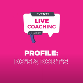 "Profile : Do's & Don""t"
